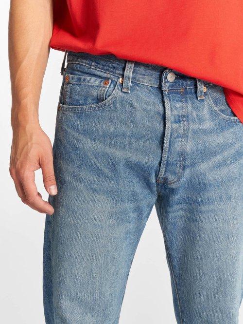 Levi's® Straight Fit Jeans 501 blau