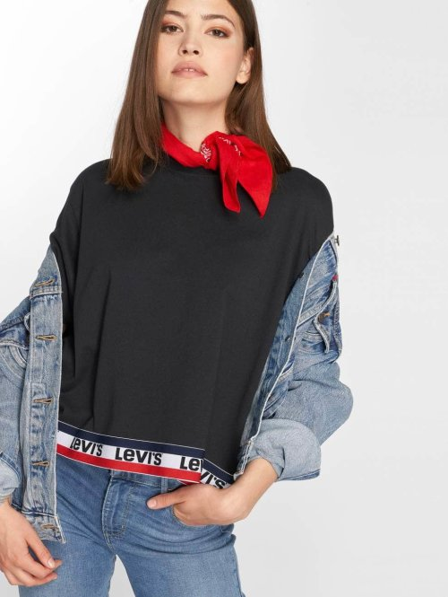 Levi's® t-shirt Graphic J.V. zwart