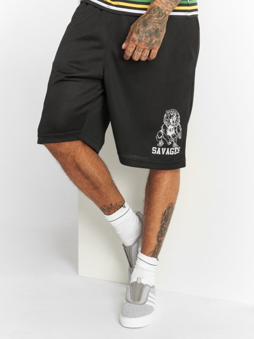 LRG Shorts Savages Mesh nero