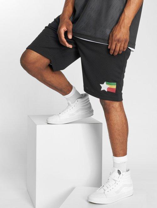 LRG Shorts High Rankin Mesh schwarz