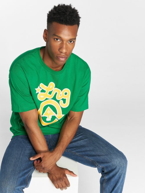LRG T-Shirt Rasta Western green