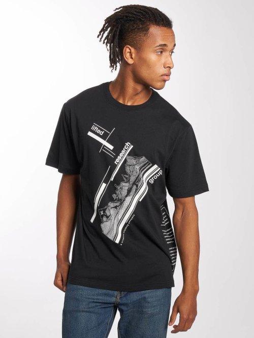 LRG T-Shirt The Blueprint noir