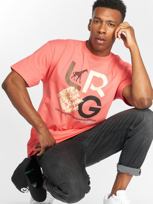 LRG T-shirt High Country rosa