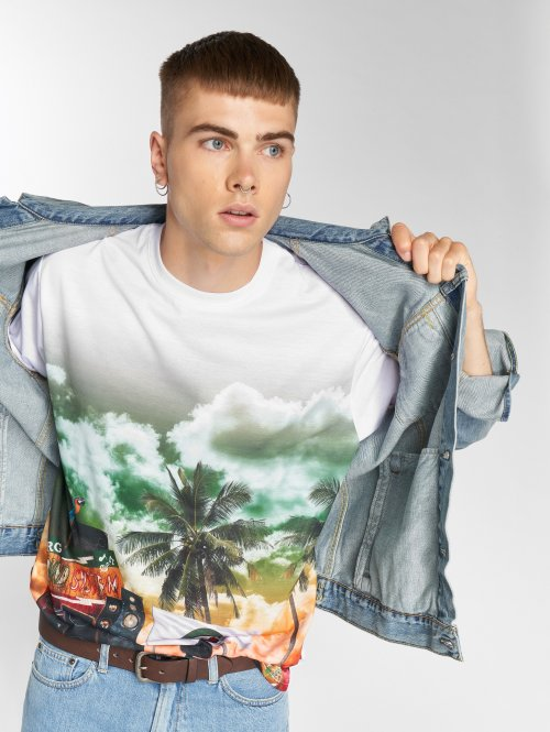 LRG T-shirt Soundsystem vit
