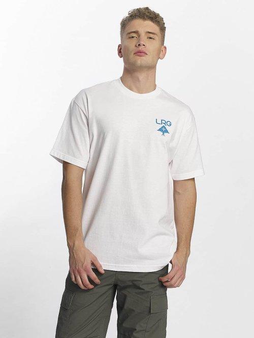 LRG t-shirt Logo Plus wit