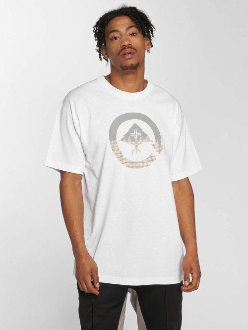 LRG t-shirt The Fade Away wit
