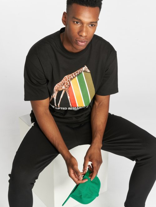 LRG t-shirt Riddim Prism zwart