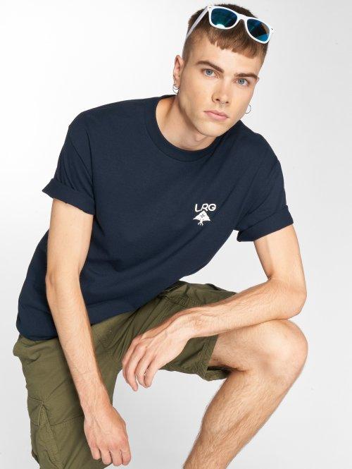 LRG T-shirts Logo Plus blå