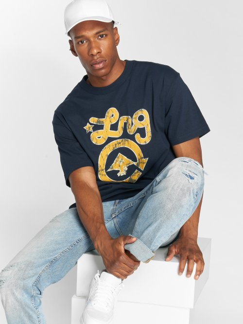 LRG T-shirts Batik Western Icon blå