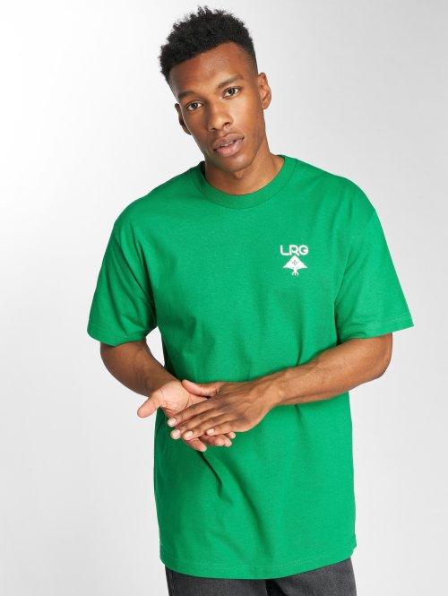 LRG T-shirts Logo Plus grøn