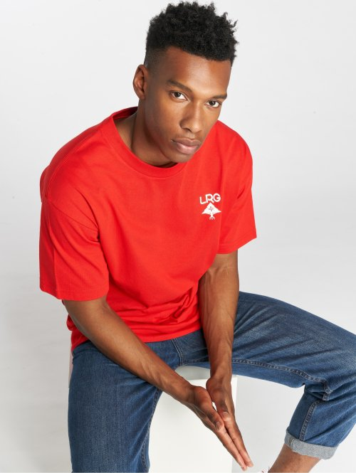 LRG T-shirts Logo Plus rød