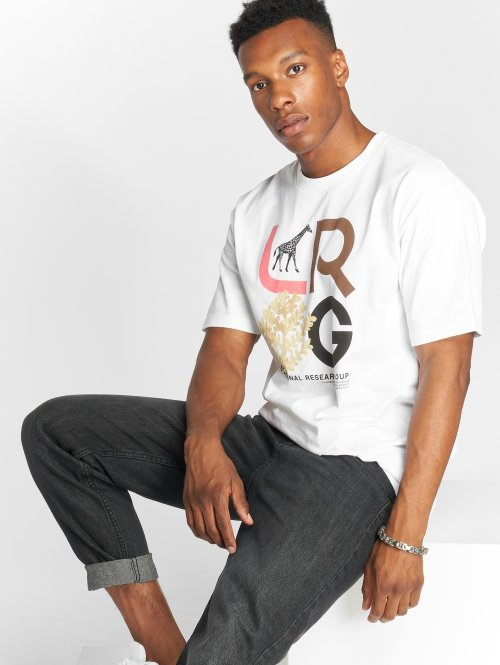 LRG T-Shirty High Country bialy