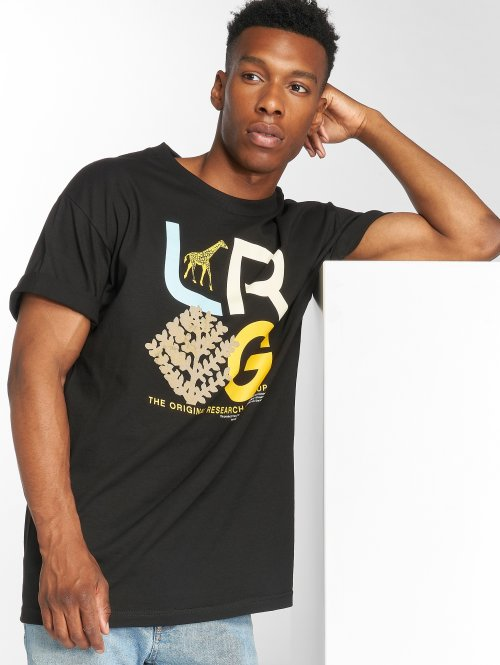 LRG T-Shirty High Country czarny