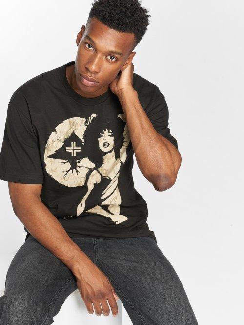 LRG T-skjorter Batik Pin Up svart