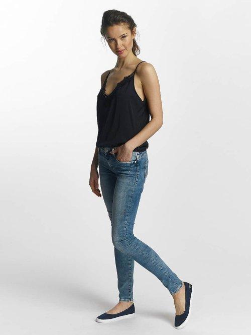 Mavi Jeans Skinny Jeans Serena Low Rise blau