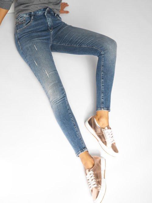 Mavi Jeans Skinny Jeans Lucy blau