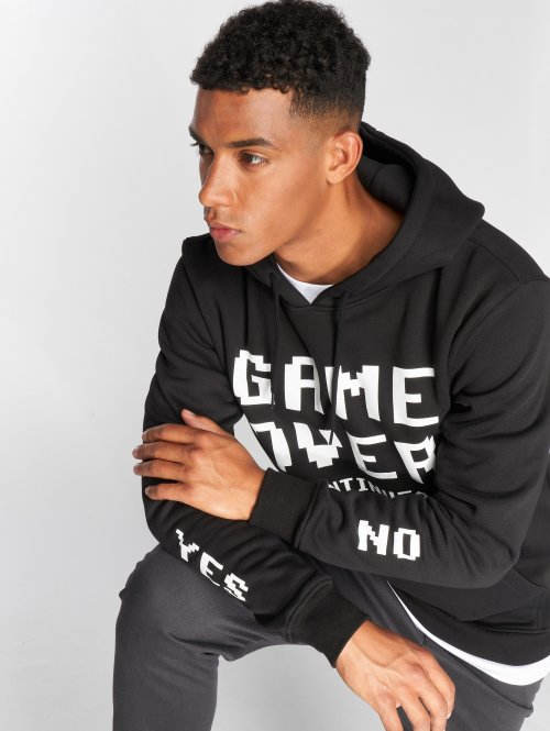 Mister Tee Sudadera Game Over negro