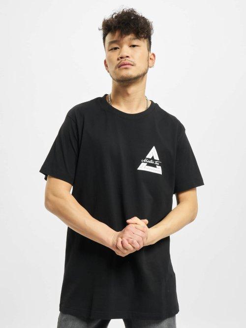 Mister Tee T-paidat Triangle musta