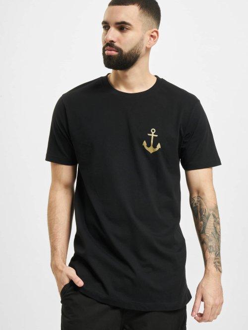 Mister Tee T-paidat Captain musta