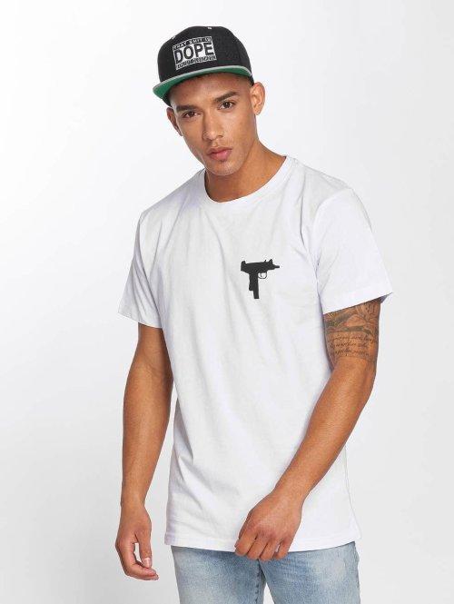 Mister Tee T-Shirt I`ll Sleep When I`m Dead blanc