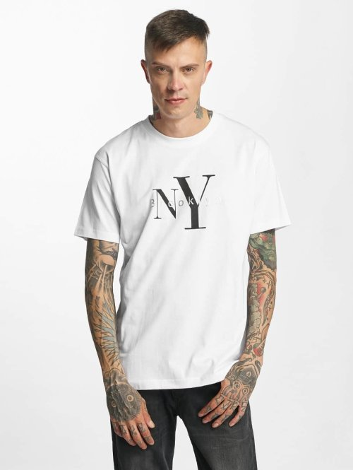 Mister Tee T-Shirt Brooklyn weiß