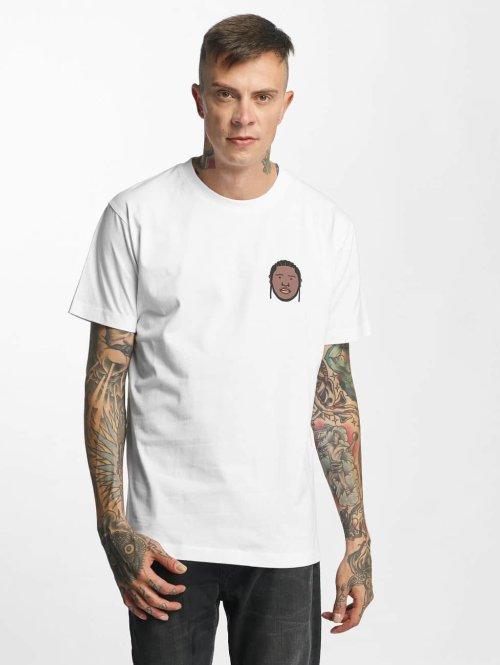 Mister Tee T-Shirt Humble weiß