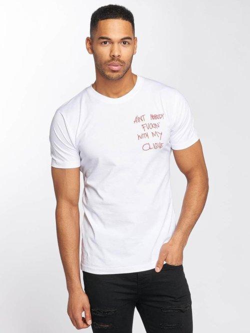 Mister Tee T-Shirt Clique weiß
