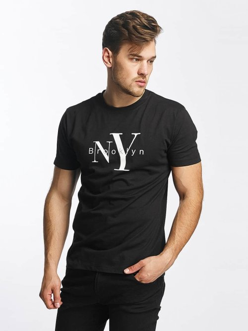 Mister Tee t-shirt Brooklyn zwart