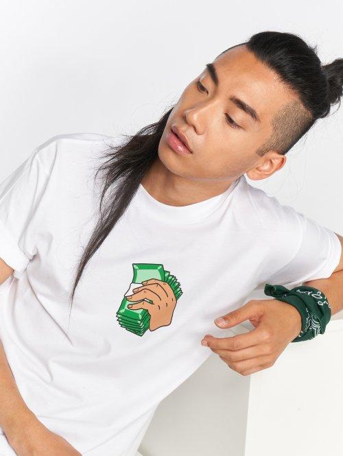 Mister Tee T-shirts Money Talks hvid