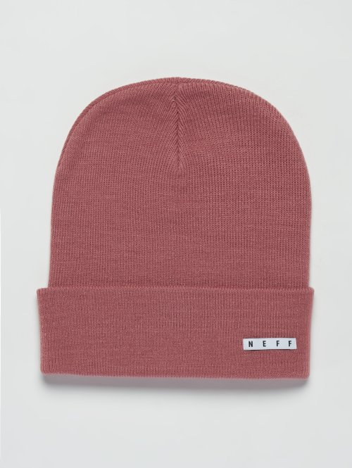 NEFF Beanie Lawrence rot