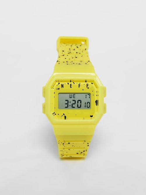 NEFF horloge Flava geel