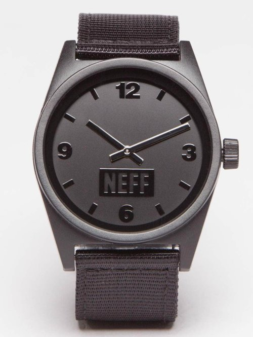 NEFF horloge Daily Watch zwart