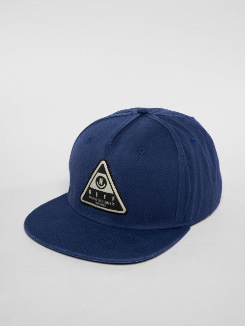 NEFF Snapback Cap X Wash blau