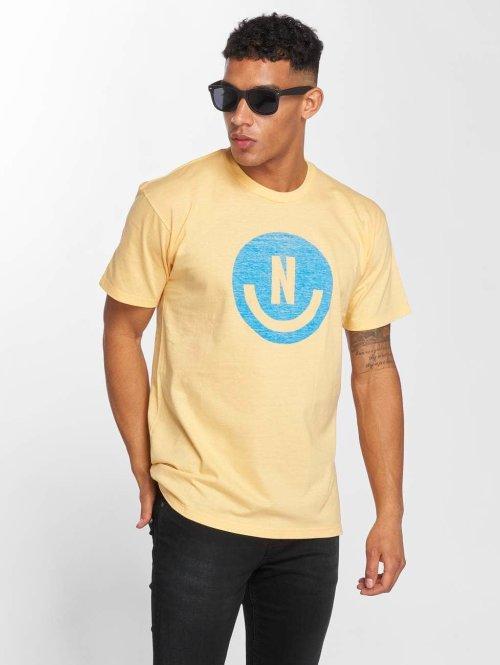 NEFF T-Shirt Smiley gelb