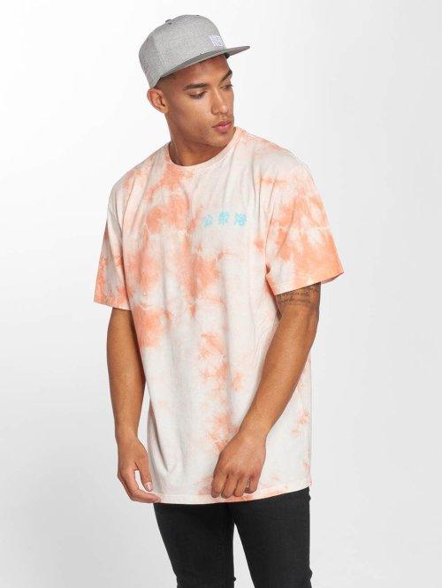 NEFF T-Shirt Steam Bath Wash orange