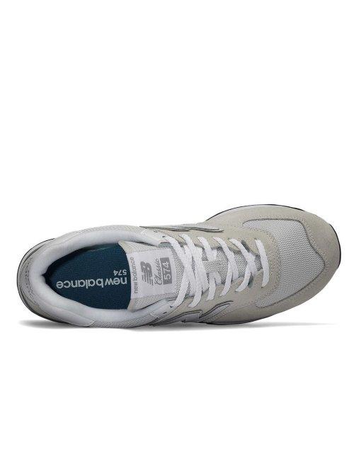 New Balance Sneaker ML574EGW grau
