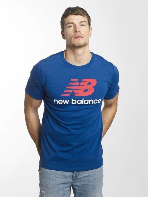 New Balance t-shirt MT73587 Essentials blauw