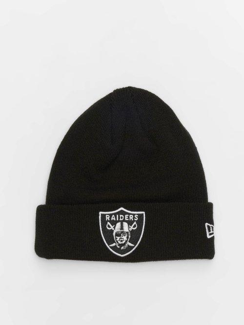 New Era Bonnet NFL Team Essential Oakland Raiders Cuff noir