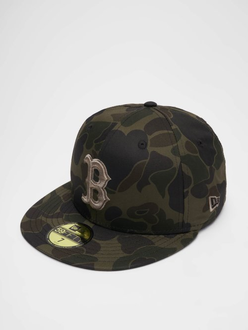 New Era Casquette Fitted MLB Camo Bosten Red Sox 59 Fifty camouflage