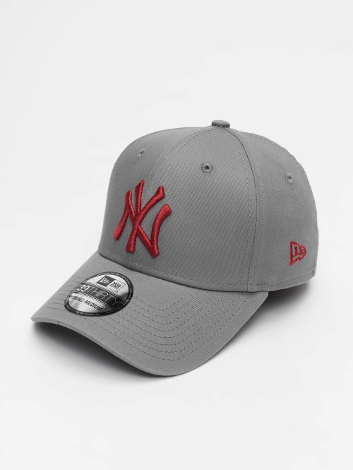 New Era Casquette Flex Fitted MLB League Essential New York Yankees 39 Thirty gris