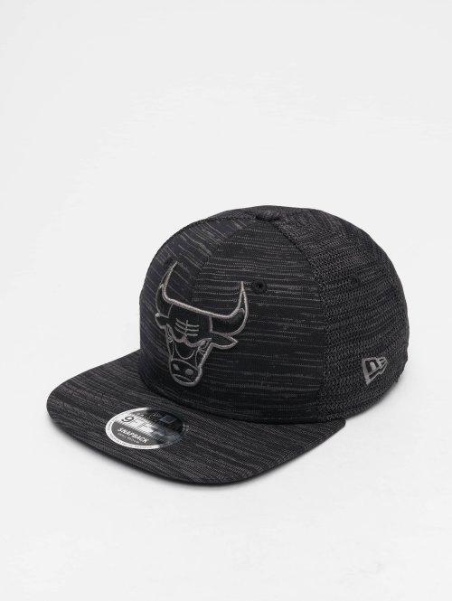 New Era Casquette Snapback & Strapback NBA Engineered Fit Chicago Bulls 9 Fifty noir