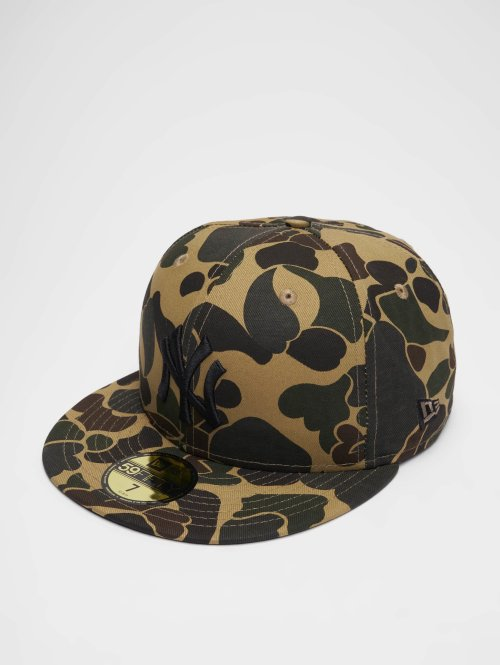 New Era Fitted Cap MLB Camo New York Yankees 59 Fifty camouflage