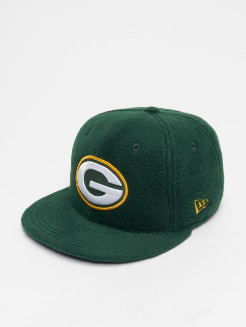 New Era Fitted Cap NFL Wintr Utlty Micro Fleece Green Bay Packers 59 Fifty groen