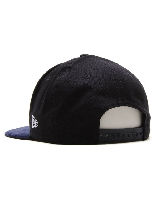 New Era Fitted Cap Canvas Cord NY Yankees schwarz