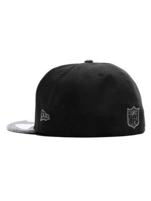 New Era Fitted Cap Coll Oakland Raiders schwarz