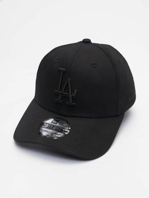 New Era Fitted Cap 3930 League Essential LA Dodgers schwarz