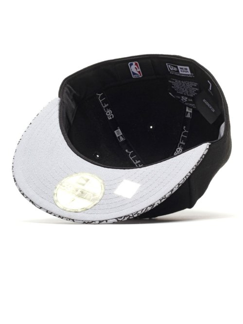 New Era Fitted Cap Ger Ele Vize Nba Brooklyn Nets Fitted schwarz