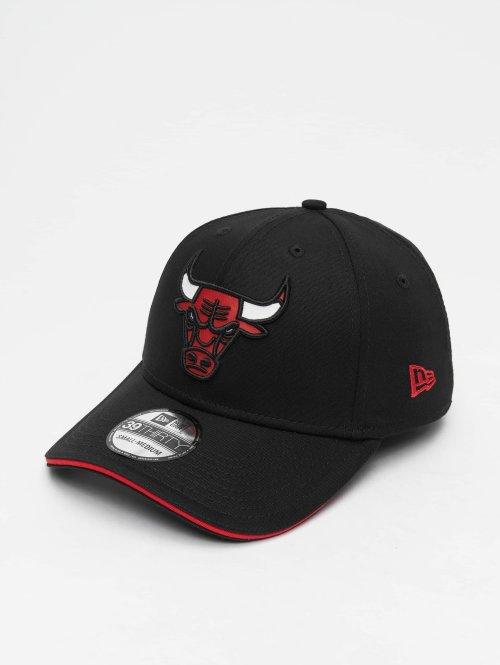 New Era Flexfitted Cap NBA Team Chicago Bulls 39 Thirty schwarz