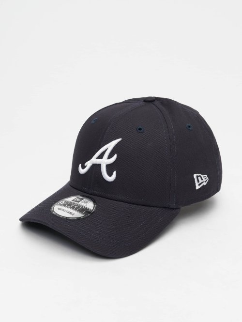 New Era Snapback Cap MLB League Essential Atlanta Braves 9 Fourty blau