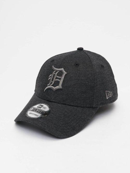 New Era Snapback Cap MLB Jersey Detroit Tigers 9 Fourty grau